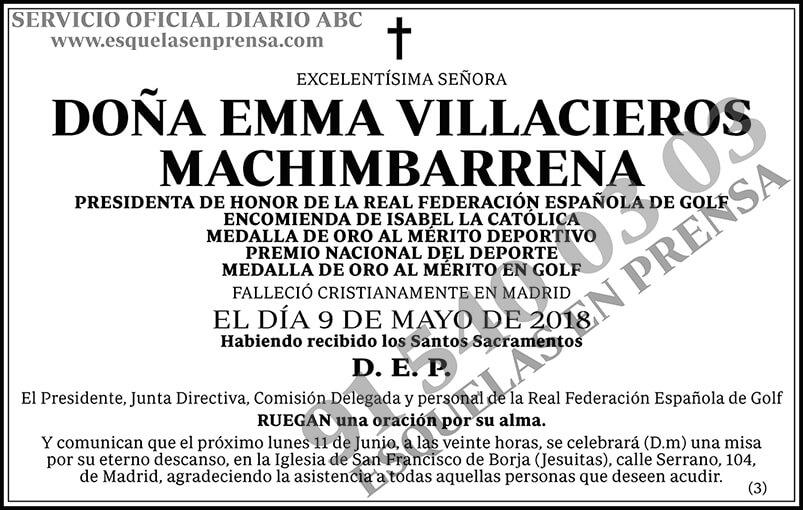 Emma Villacieros Machimbarrena